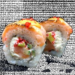 NEW! Подвійний лосось з соусом Спайсі
