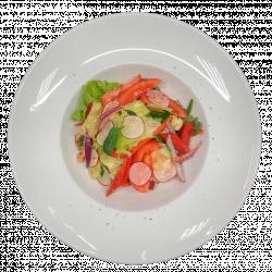 Салат овочевий по домашньому з редисом